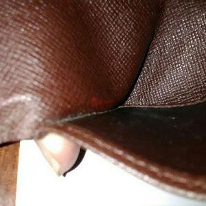 Louis Vuitton Accessories - Authentic Louis Vuitton Damier Ebene key ring